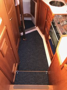 Nauticat-321 1 Tæpper med kant