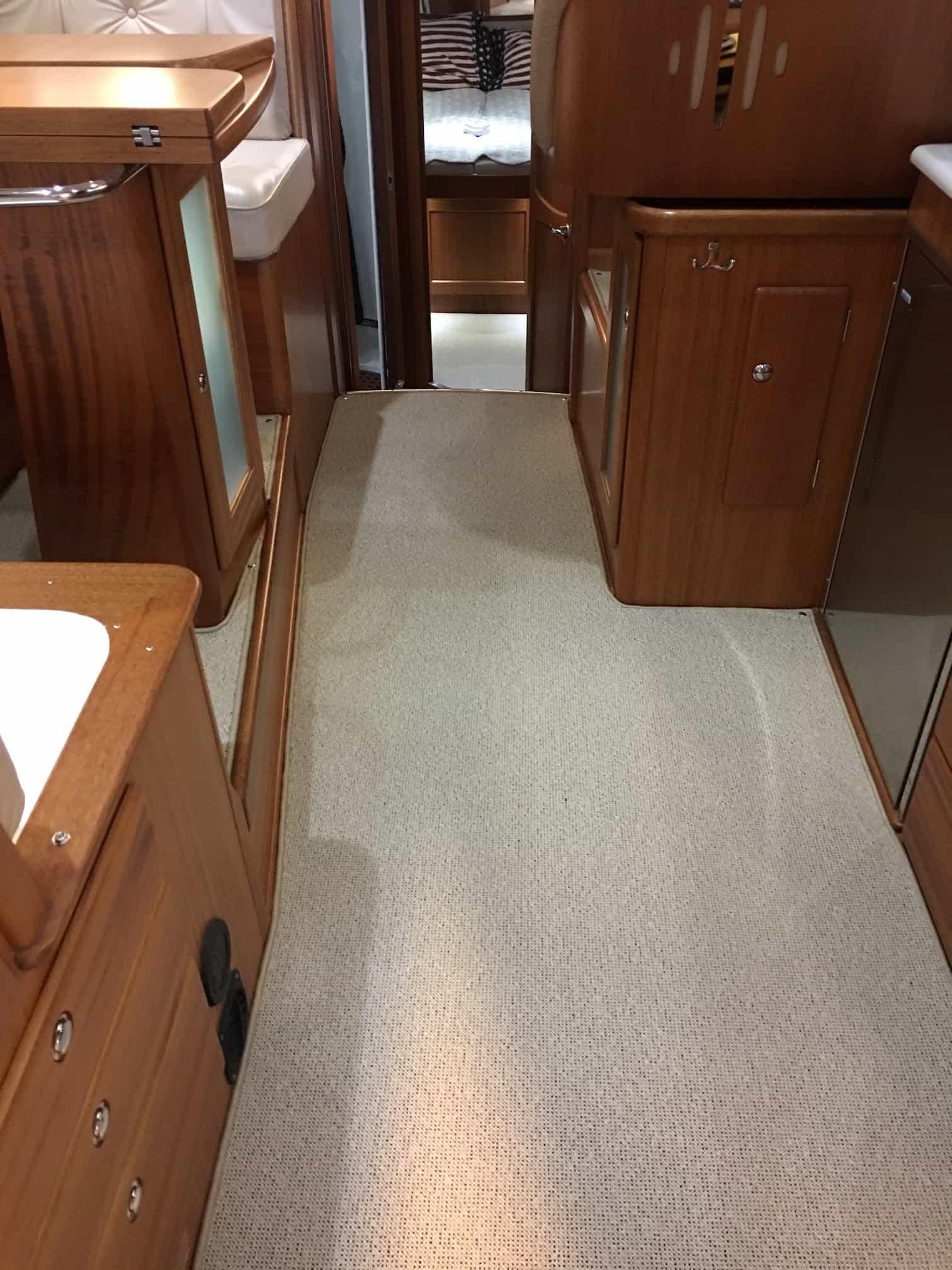 Nordvest 420 - kantsyede tæpper i båd - tæpper med kant #7