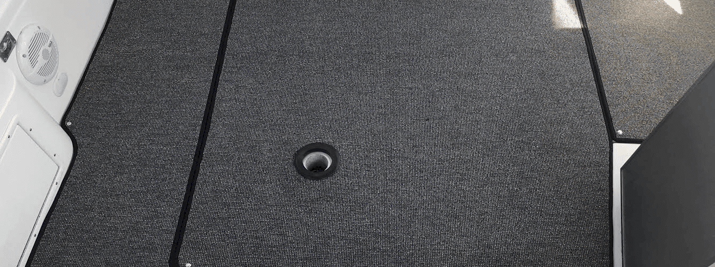 Sådan monterer du tæpperinge i dit tæppe